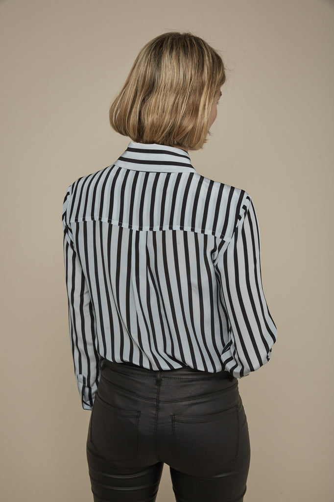 Somerville London Hero shirt in Candy Stripe back
