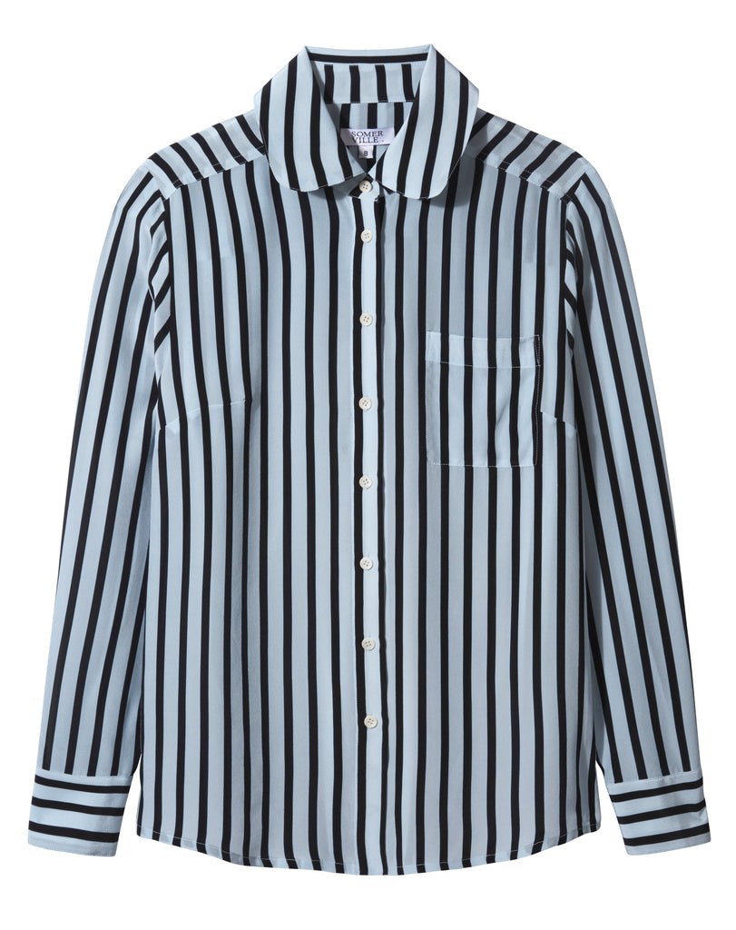 Somerville London Hero shirt in Candy Stripe