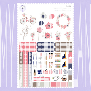 Deco and Functional Sticker Sheet | D&F#1