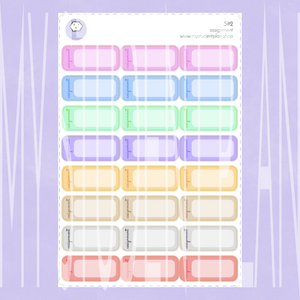 Assignment Stickers | S#2