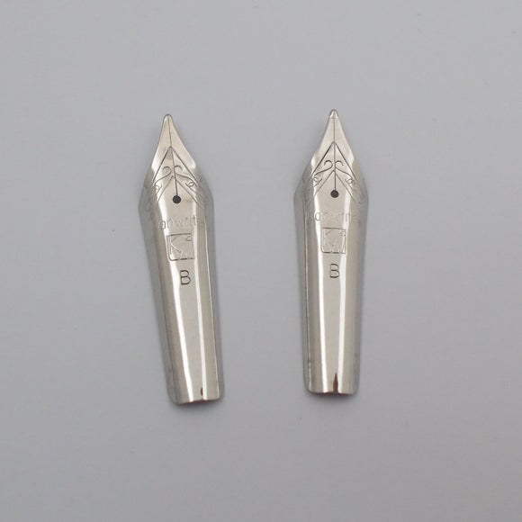 Set of 2 Kanwrite 35 mm No.6 Fountain Pen Broad (B) Nibs