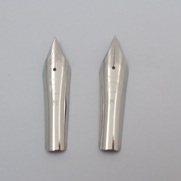 Set of 2 Kanwrite No.6 35mm Medium (M) Fountain Pen Nibs - SSF