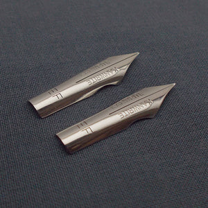 Set of 2 Kanwrite #5.5 Ultra Flex EF Fountain Pen Nibs - SSF