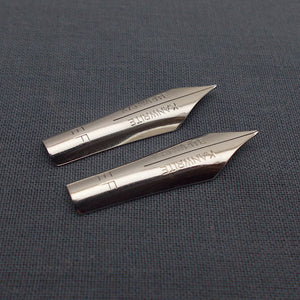 Set of 2 Kanwrite #5.5 Flex EF Fountain Pen Nibs - SSF