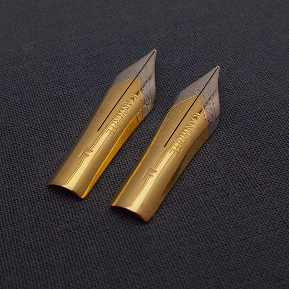 Set of 2 Kanwrite #5.5 Flex F Fountain Pen Nibs - TTF