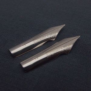 Set of 2 Kanwrite #5.5 Ultra Flex F Fountain Pen Nibs - SSF