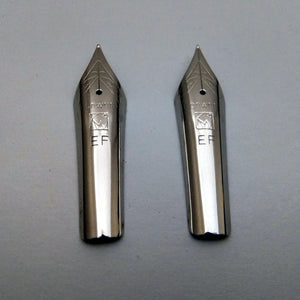 Set of 2 Kanwrite No.6 35mm Extra Fine (EF) Fountain Pen Nibs - SSF