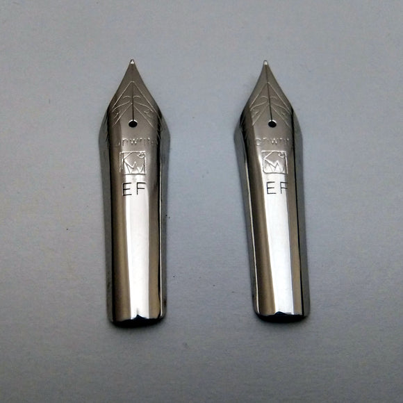 Set of 2 Kanwrite 35 mm No.6 Fountain Pen Extra Fine (EF) Nibs