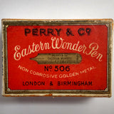Vintage Perry & Co. EASTERN WONDER No.506 Dip Pen Nibs - Set of 3