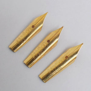 Set of 3 Vintage Ambitious  No.2 Fountain Pen Nibs