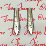 Set of 2 #6 35mm Cursive Italic (CI) Fountain Pen Nibs