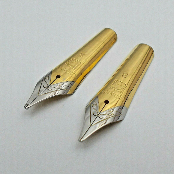 Set of 2 Kanwrite No.6 (35 mm) Stub Fountain Pen Nibs