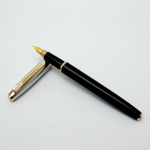 V'Sign Stride Fountain Pen with 3-in-1 Filling System - Black