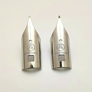Set of 2 Replacement Nibs for Vintage Parker 25 Fountain Pen