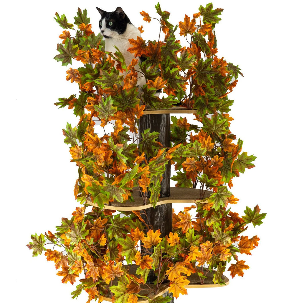 Large Square Luxury Cat Tree Summer