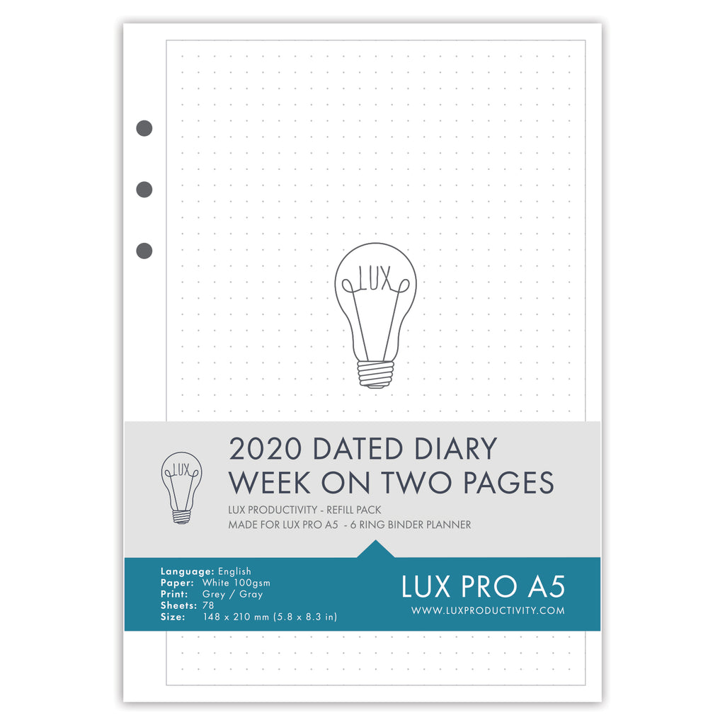 2020 Dated Diary