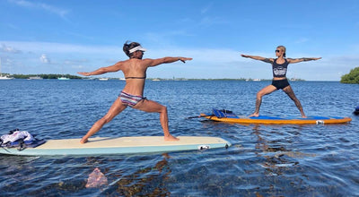 SUP Yoga in the Florida Keys