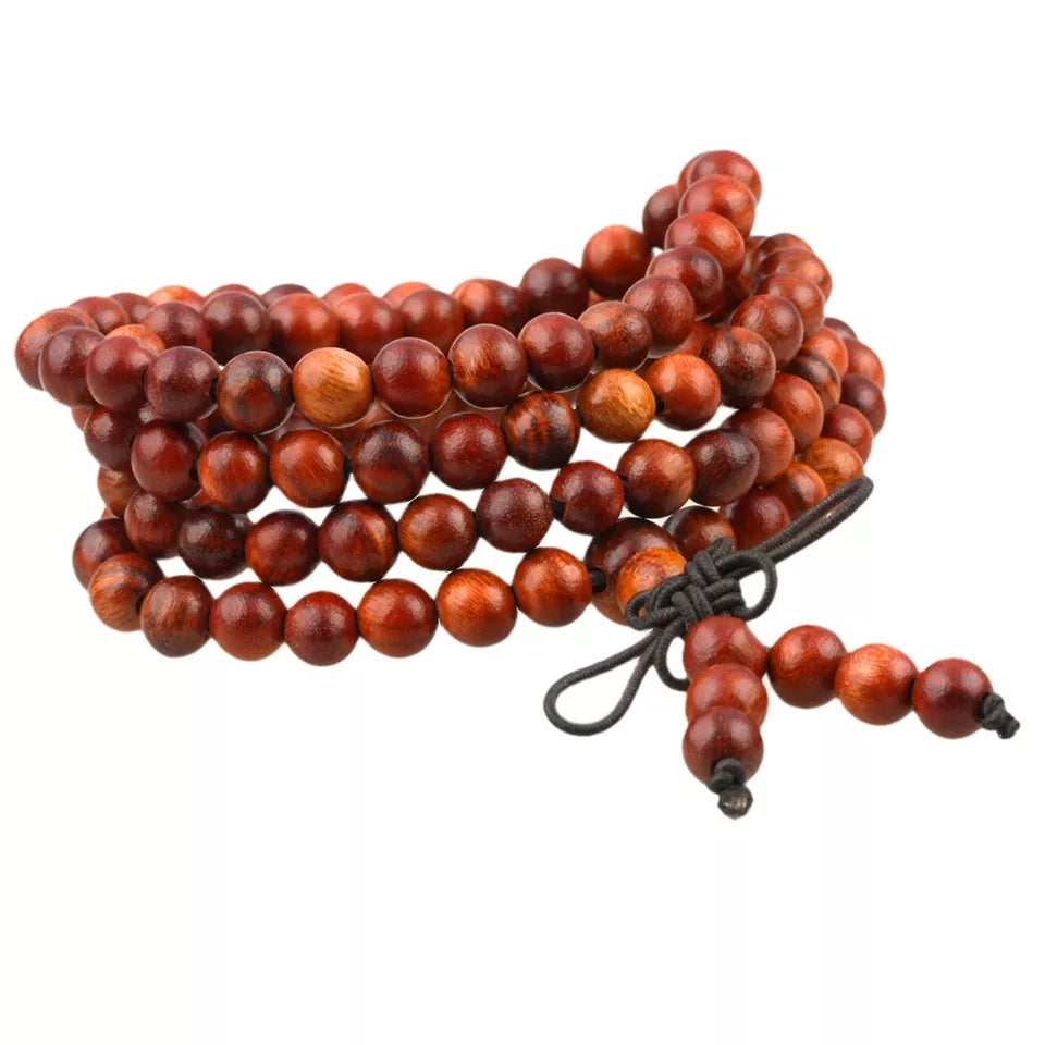 108 Rosewood Mala Bracelet/Necklace- 8mm