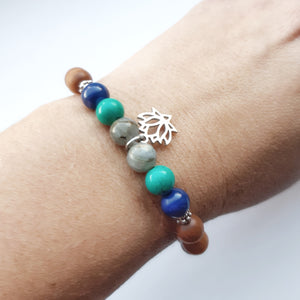 Aromatic Sandalwood Grounding Bracelet