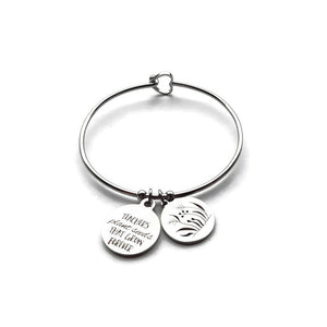 Teacher Bangle- Teachers Plant The Seeds That Grow Forever