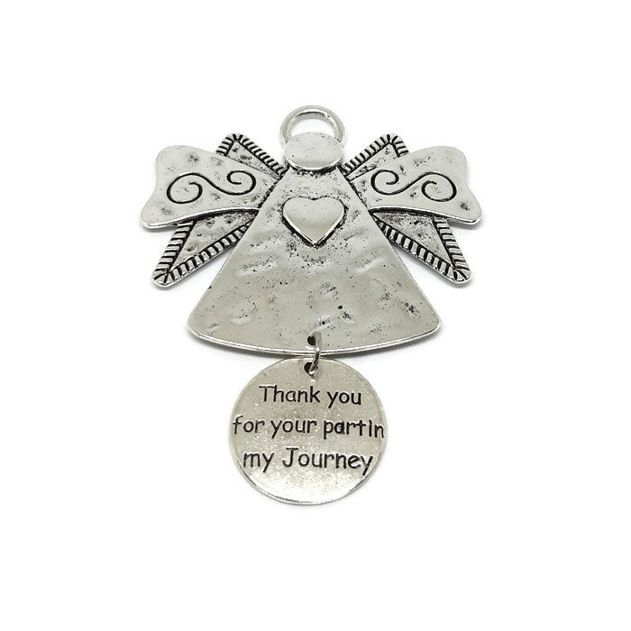 Thank You For Your Part In My Journey Angel Ornament