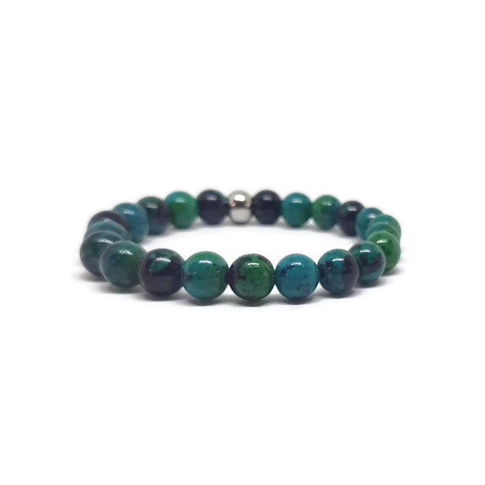 Chrysocolla Stretch Bracelet