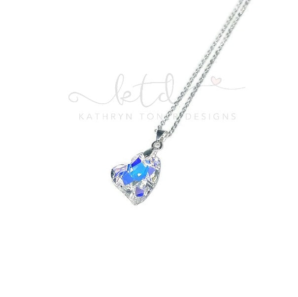 "Swarovski Crystal ""Devoted 2 U"" Necklace"