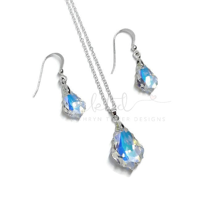 Swarovski Crystal Baroque Set
