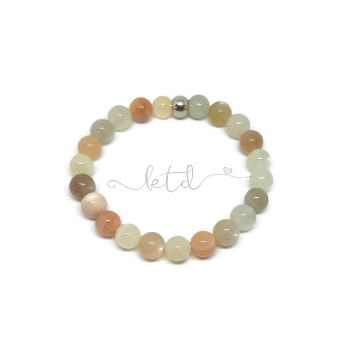 Moonstone Stretch Bracelet