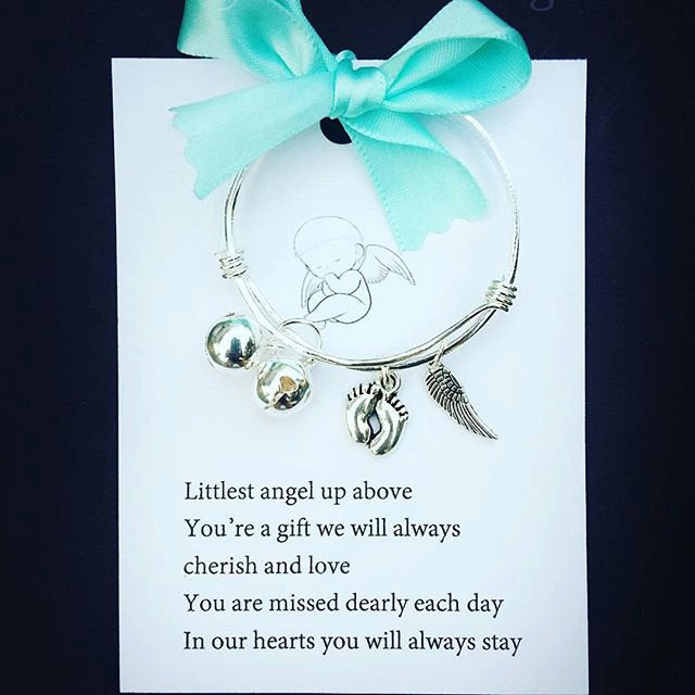 Infant Loss/Miscarriage Baby Bangle Keepsake