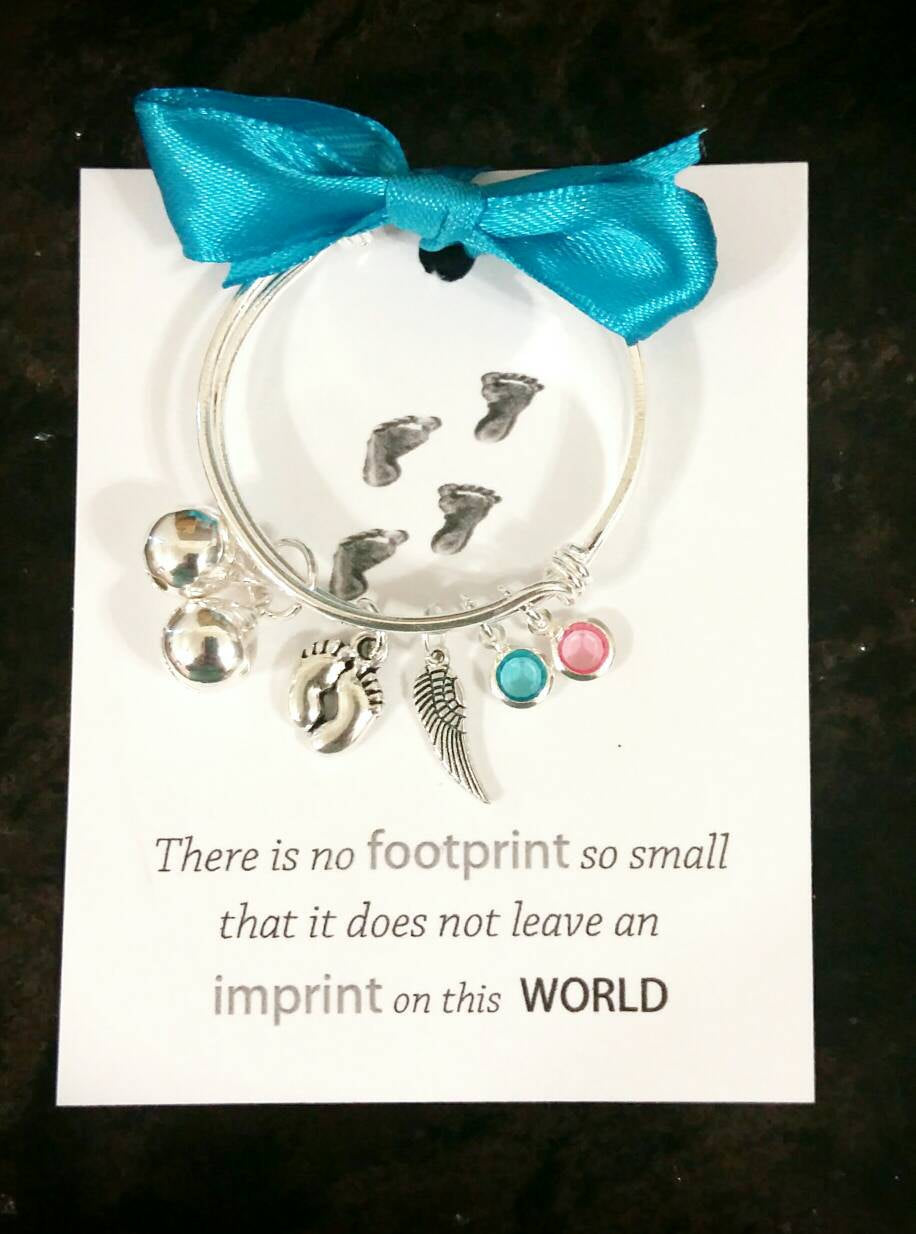 Miscarriage/Infant Loss Baby Bangle Keepsake