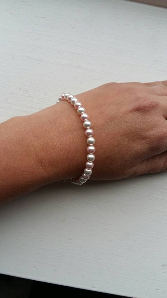 Nana bracelet- mother's day gift- nana gift- pearl bracelet- Christmas gift- special nana- Swarovski pearl- gift to grandmother- nana