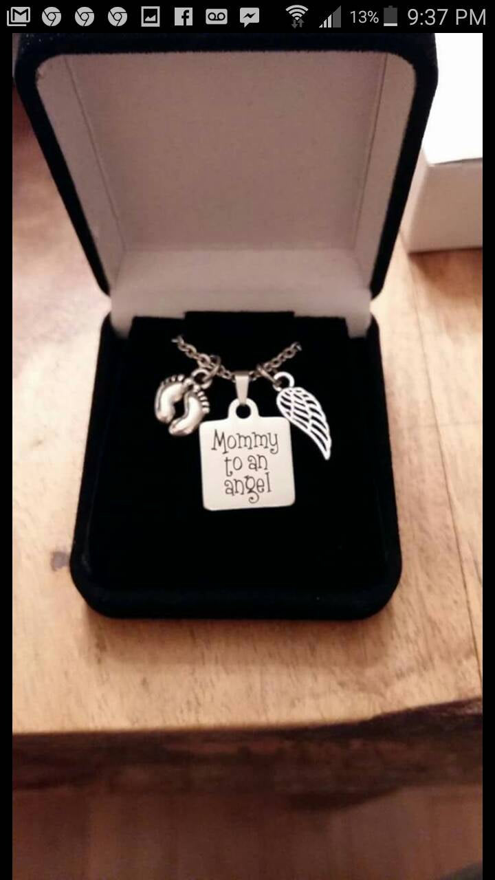Miscarriage/Infant Loss Memorial Necklace