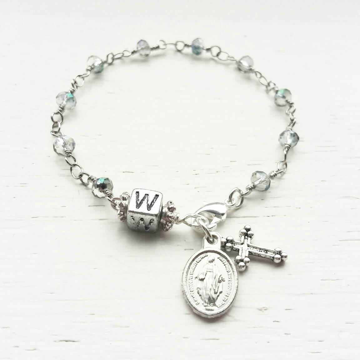 Children's Personalized Rosary Bracelet