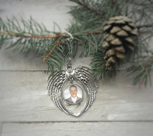 Memorial Photo Ornament