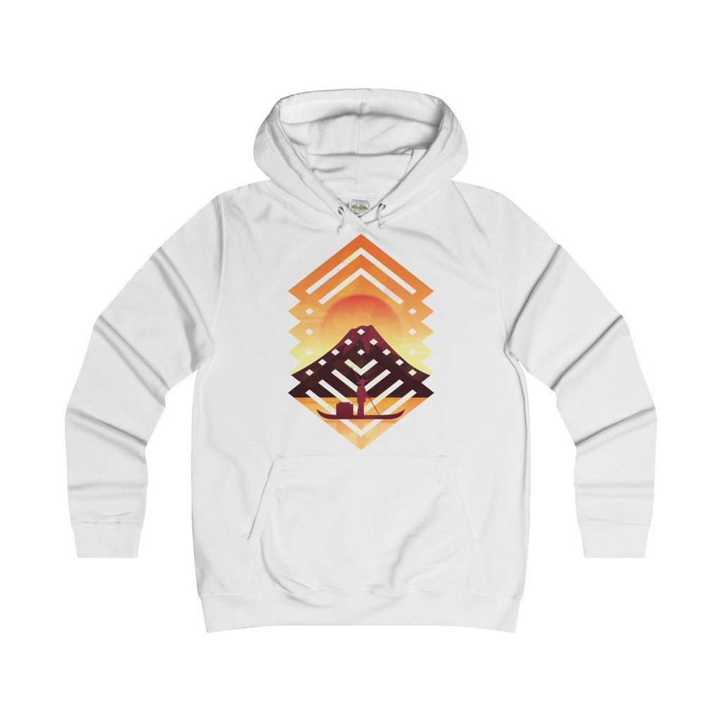 AWDis Sunset College Hoodie Arctic White / S