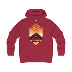 AWDis Sunset College Hoodie Red Hot Chilli / S