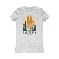 Bella+Canvas Barcelona Favorite Tee Athletic Heather / S