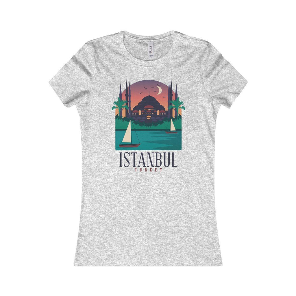 Bella+Canvas Istanbul Favorite Tee Athletic Heather / S