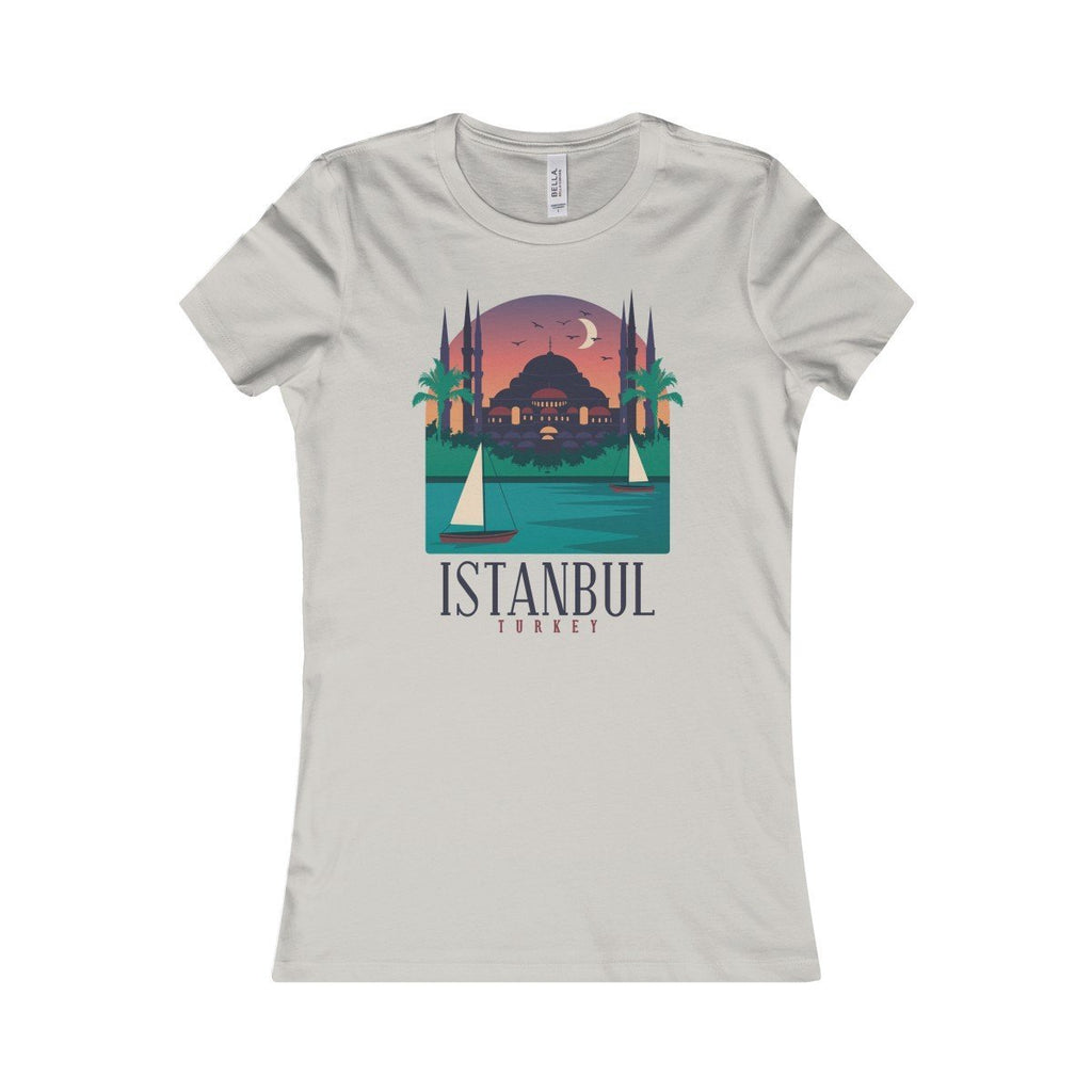Bella+Canvas Istanbul Favorite Tee Silver / S