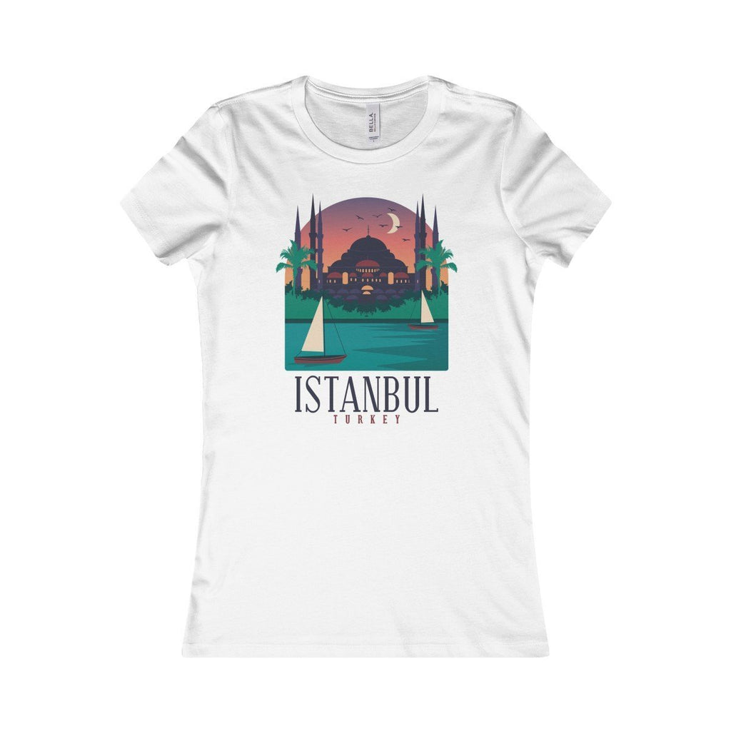 Bella+Canvas Istanbul Favorite Tee White / S
