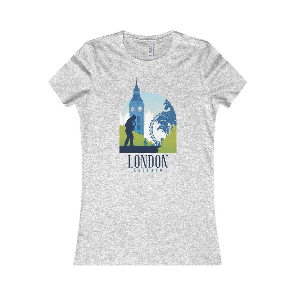 Bella+Canvas London Favorite Tee Athletic Heather / S
