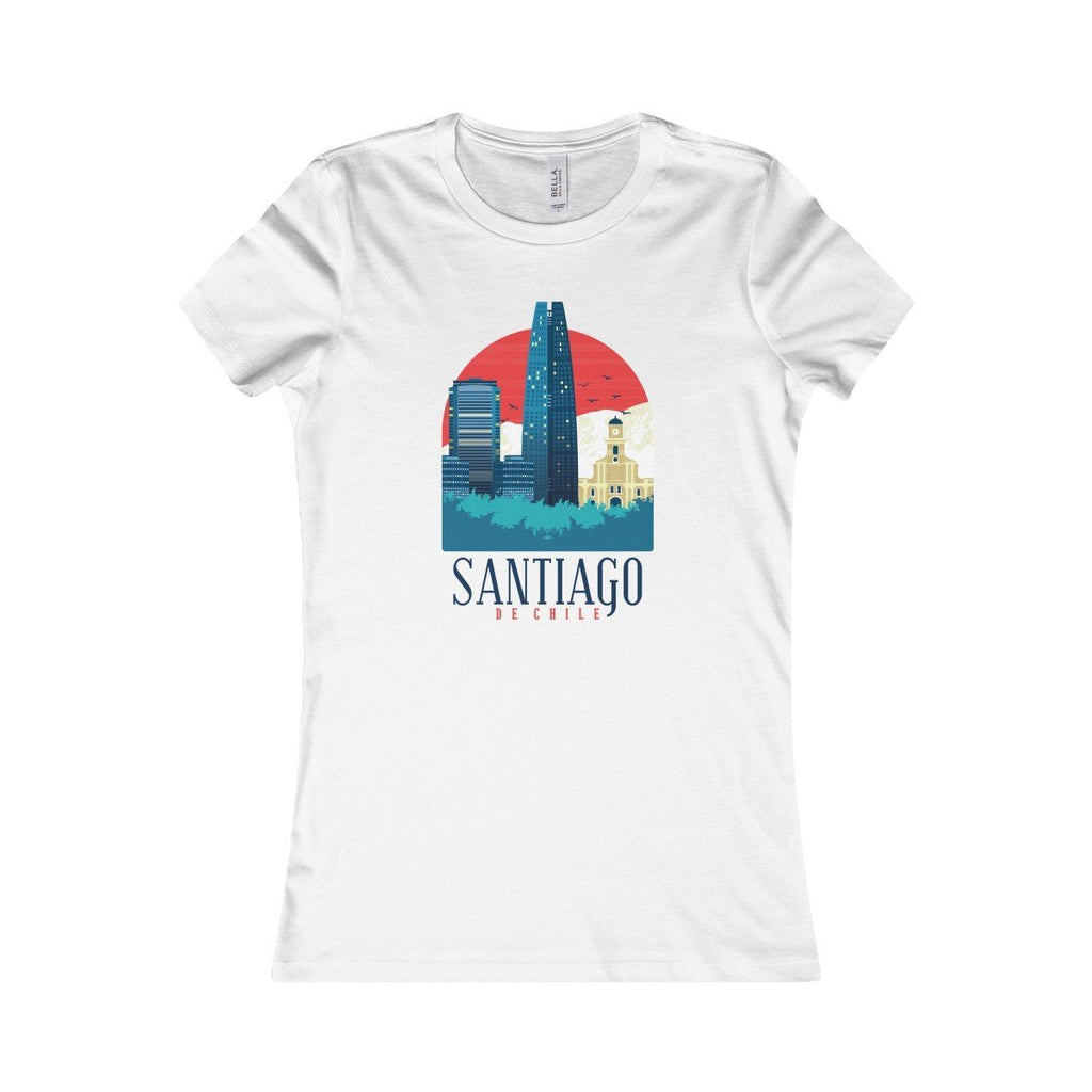 Bella+Canvas Santiago Favorite Tee White / S