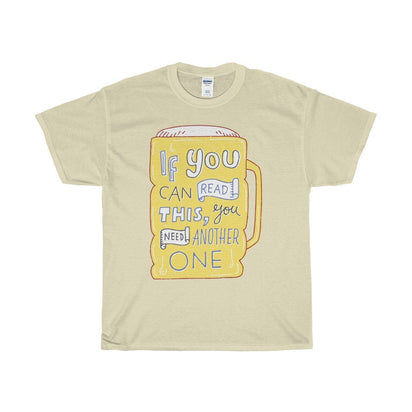Gildan Another Beer Unisex Heavy Cotton Tee Natural / S