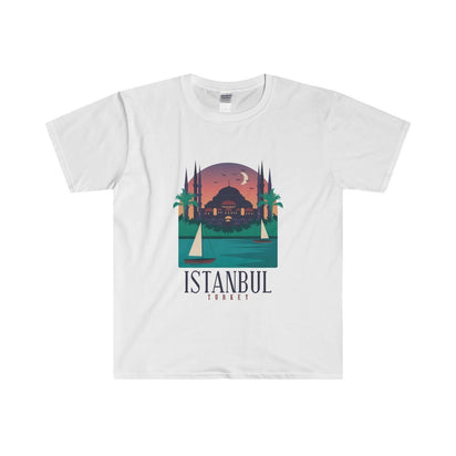 Gildan Istanbul Fitted Tee S / White