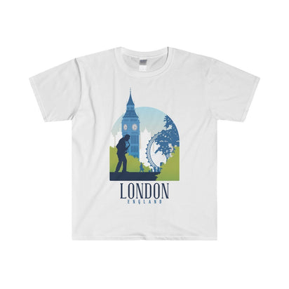 Gildan London Fitted Tee S / White