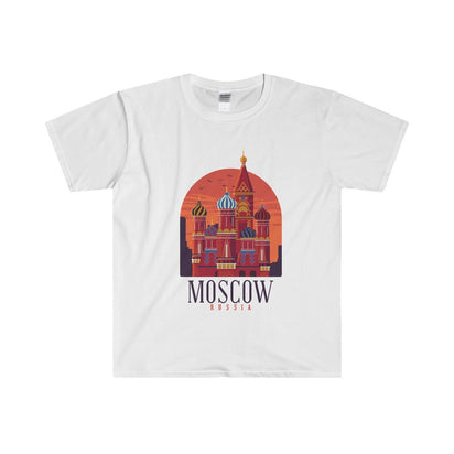Gildan Moscow Fitted Tee S / White