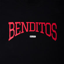 """Benditos"" Camiseta Negra"
