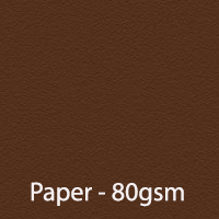 bright paper chocolate brown