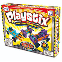 Playstix Vehicle - 130pc